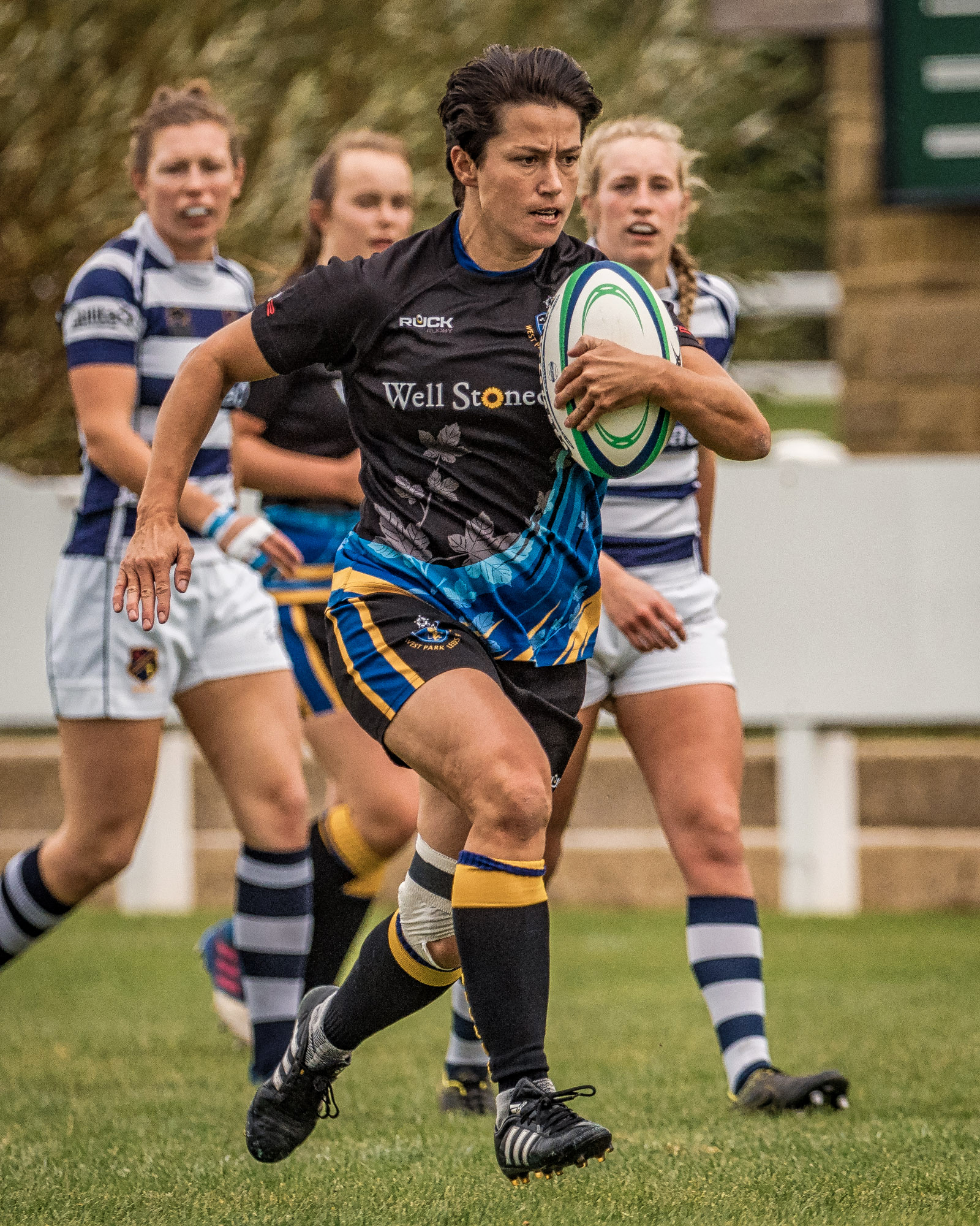 Sarah Lumb - unstoppable in the early phases