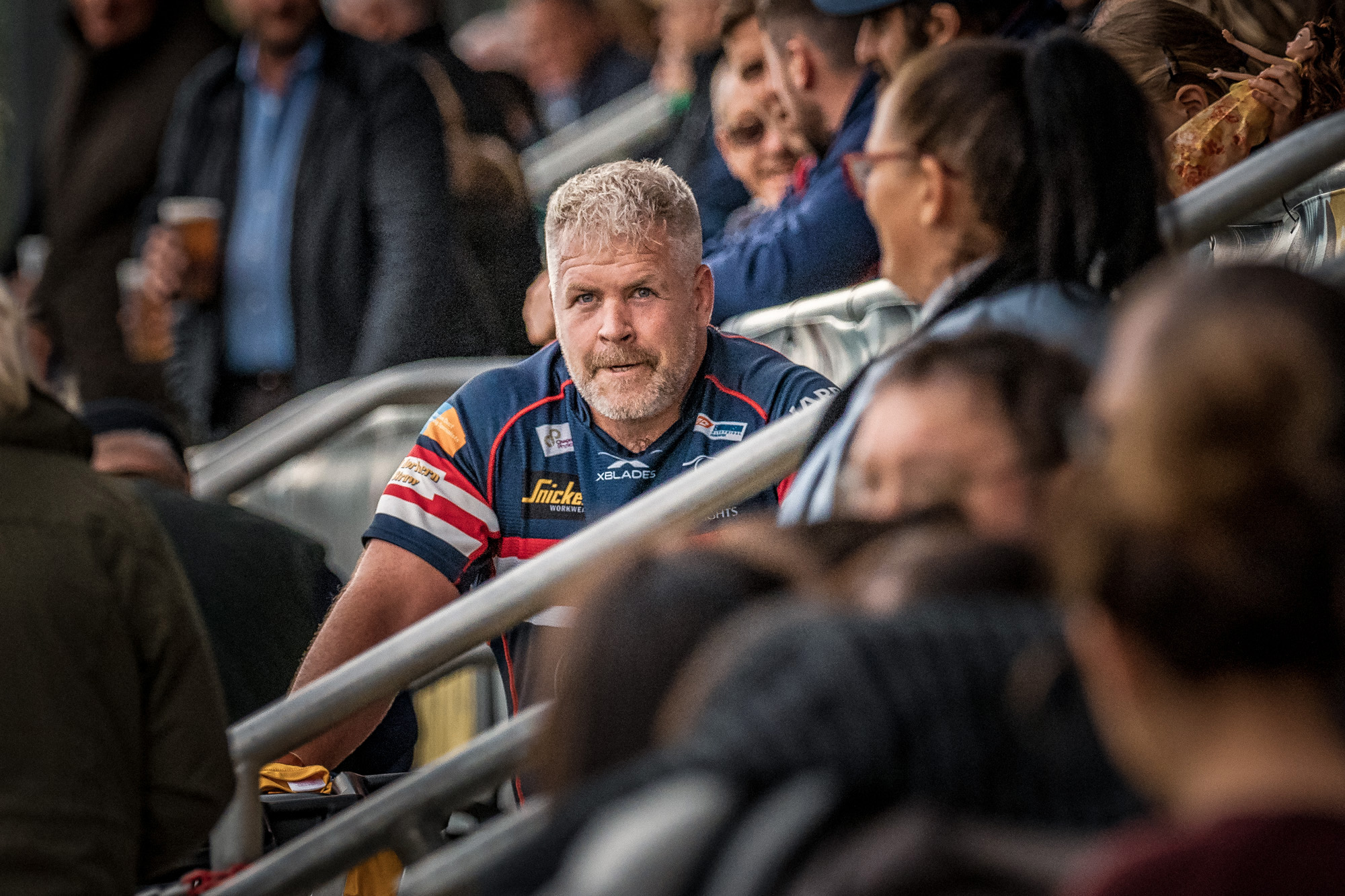 Congratulations to Colin Quigley, playing his hundredth game for Doncaster Knights