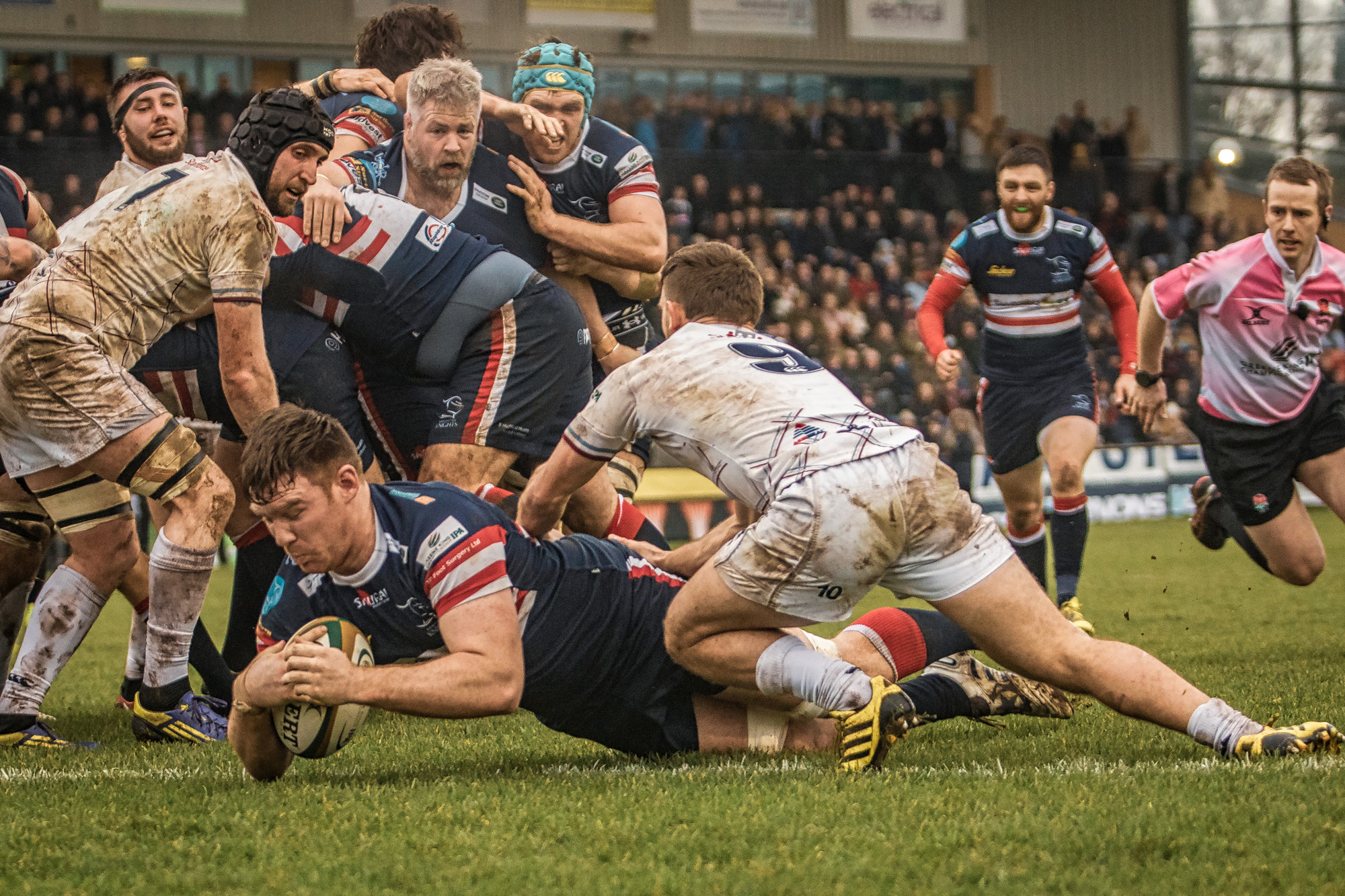 Taken in January 2016 against Rotherham Titans, this was one of my favourite shots of Ollie Stedman in his previous spell at Doncaster Knights