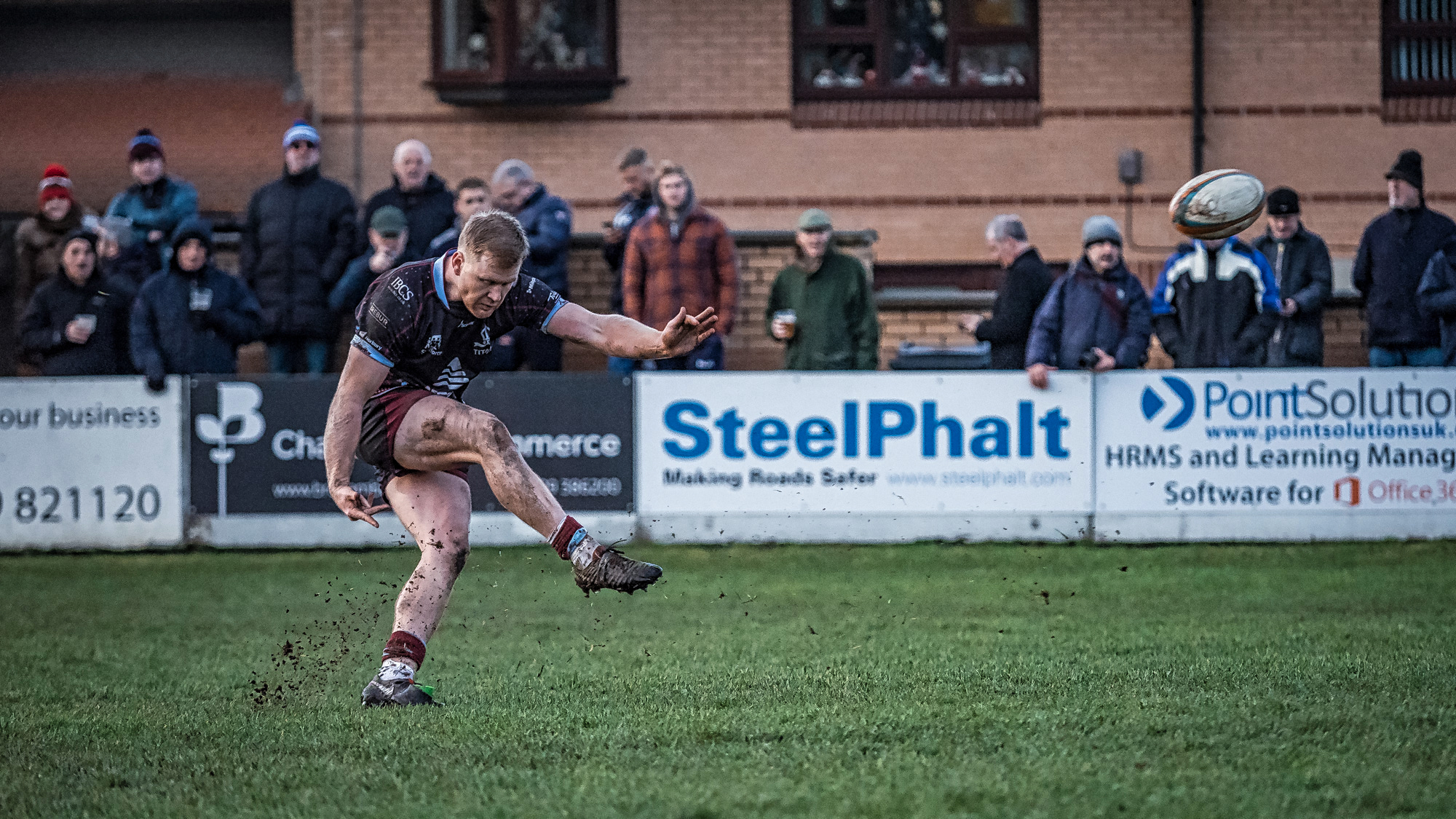 Great kicking - 10 points added during the afternoon by Alex Dolly made all the difference!