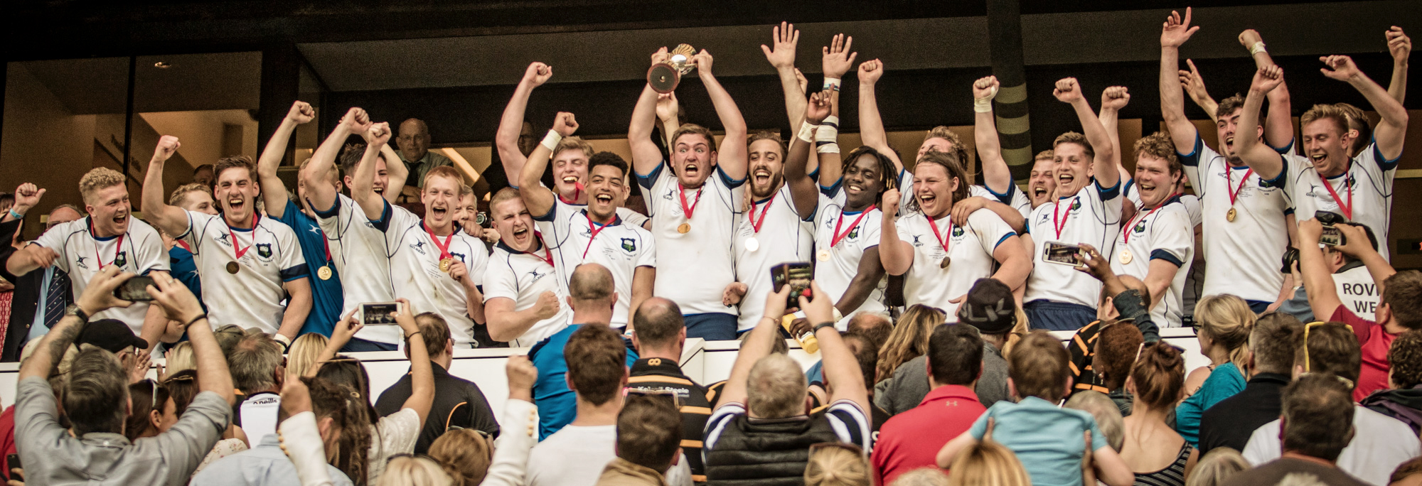 Flashback to last May - Yorkshire Under 20s - National Champions, Will, Tom, Zac and Connor