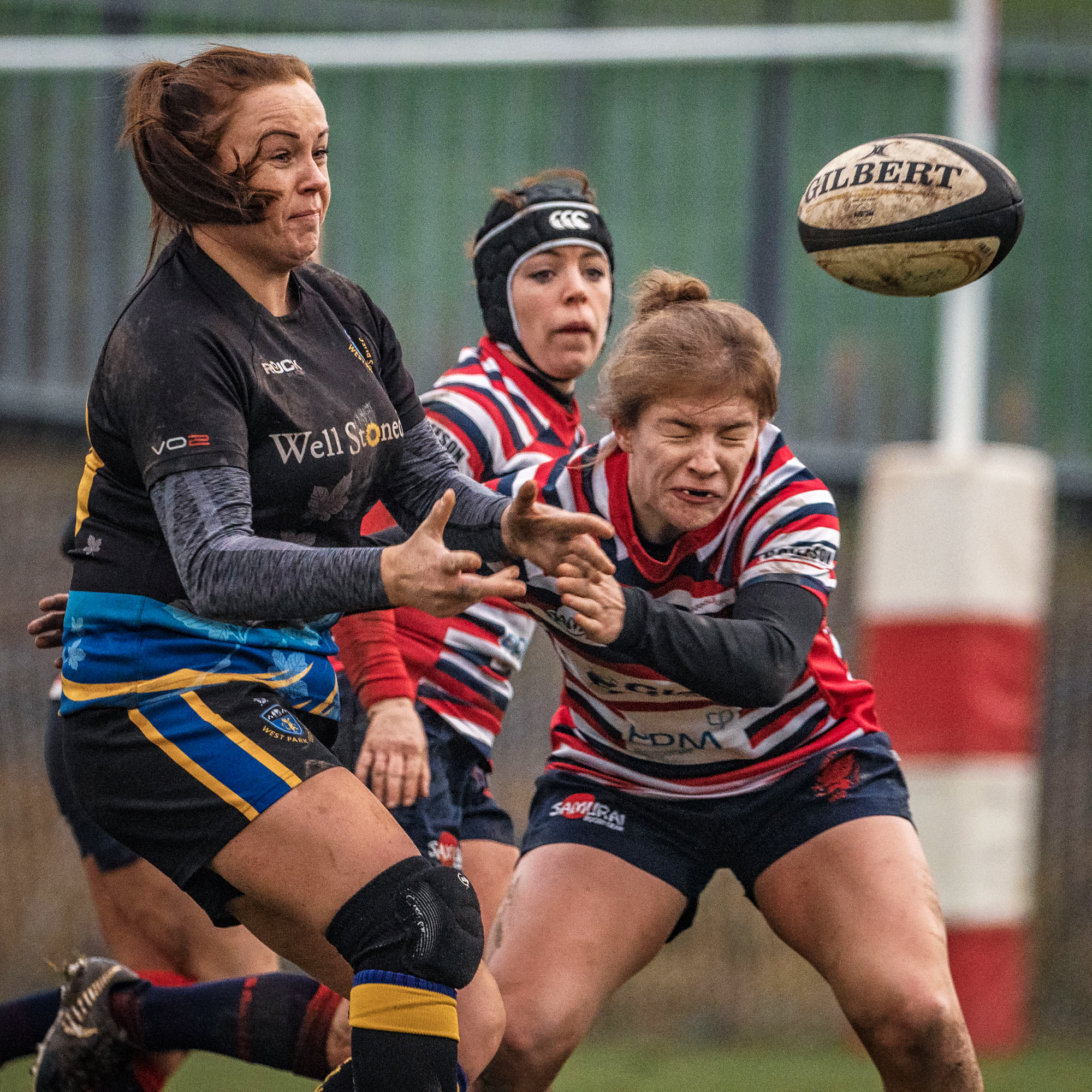Claire Garner of West Park Leeds: Two tries on the day