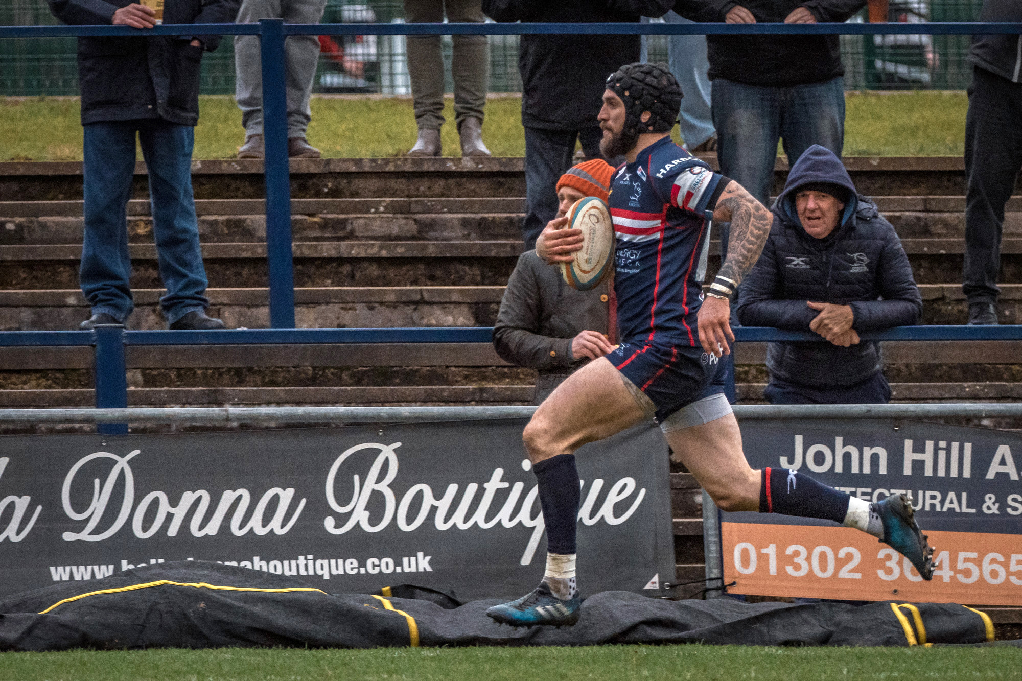 … and en route to his second try