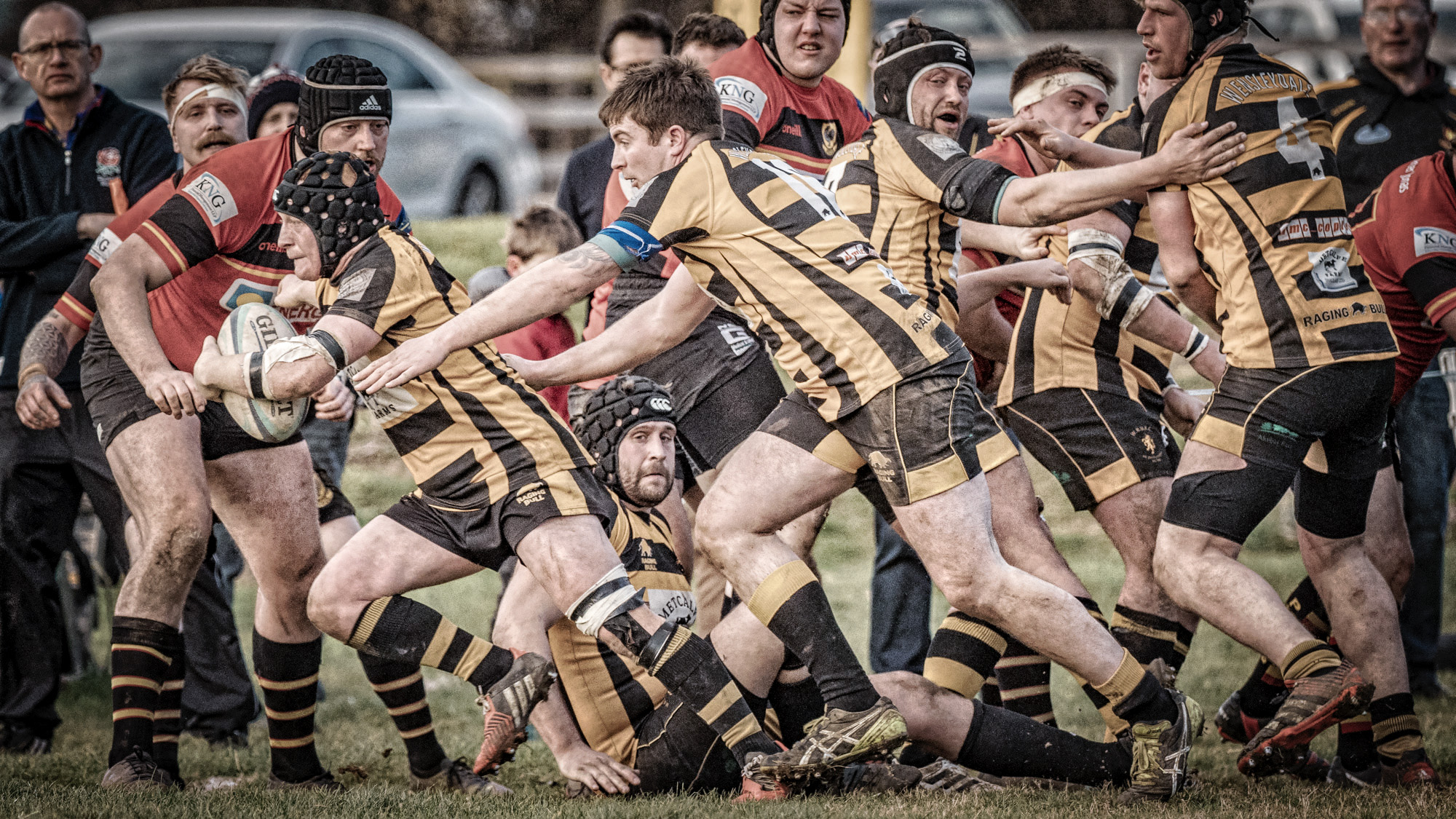 Second Half Run Results In A Try For Wensleydale