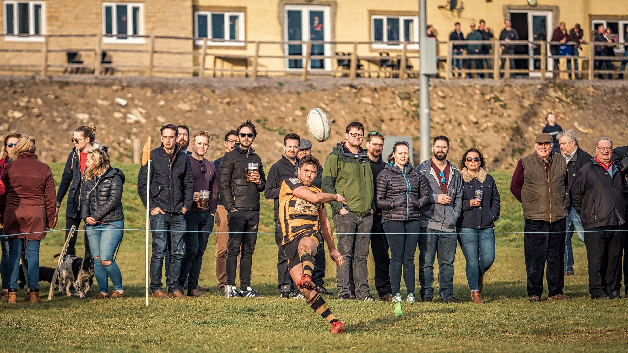 Kick With Spectators Near And Far