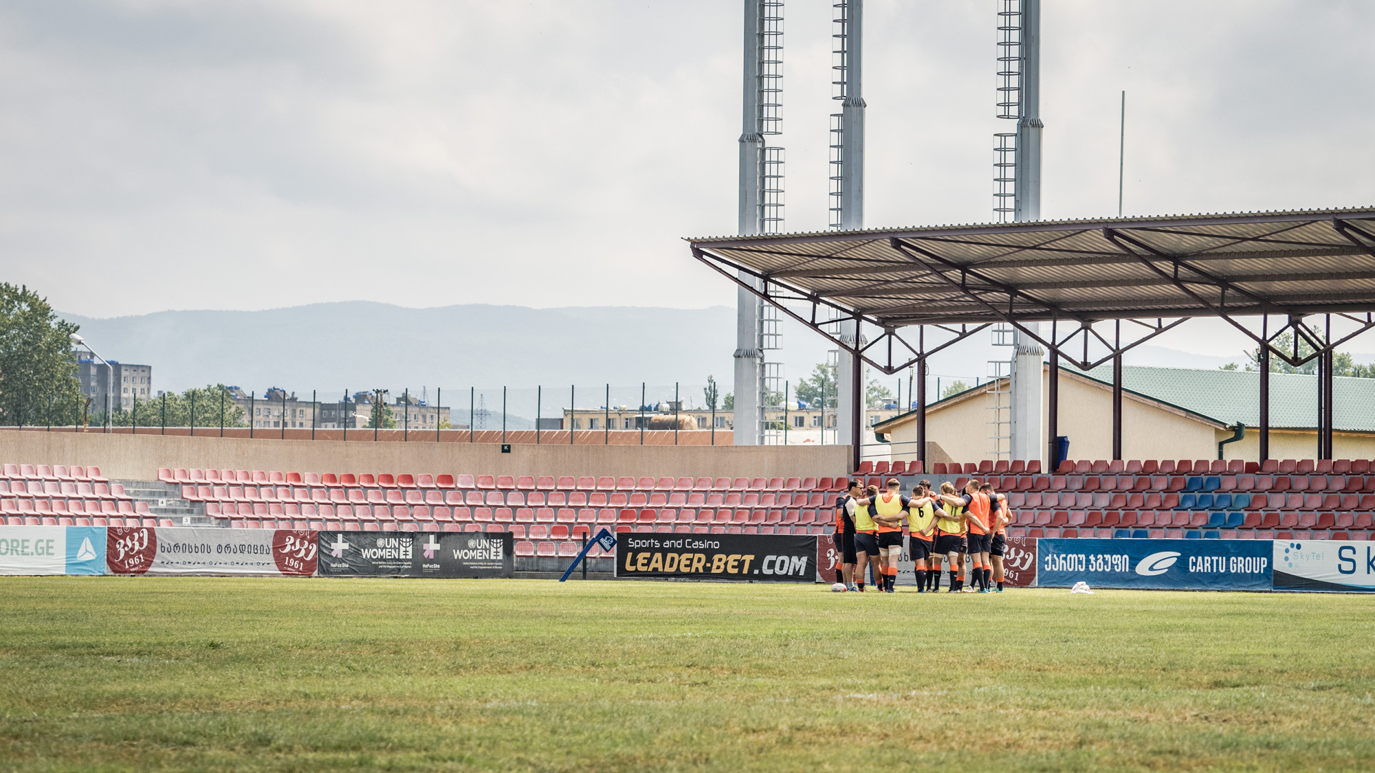 Venue for the second Test in Tbilisi