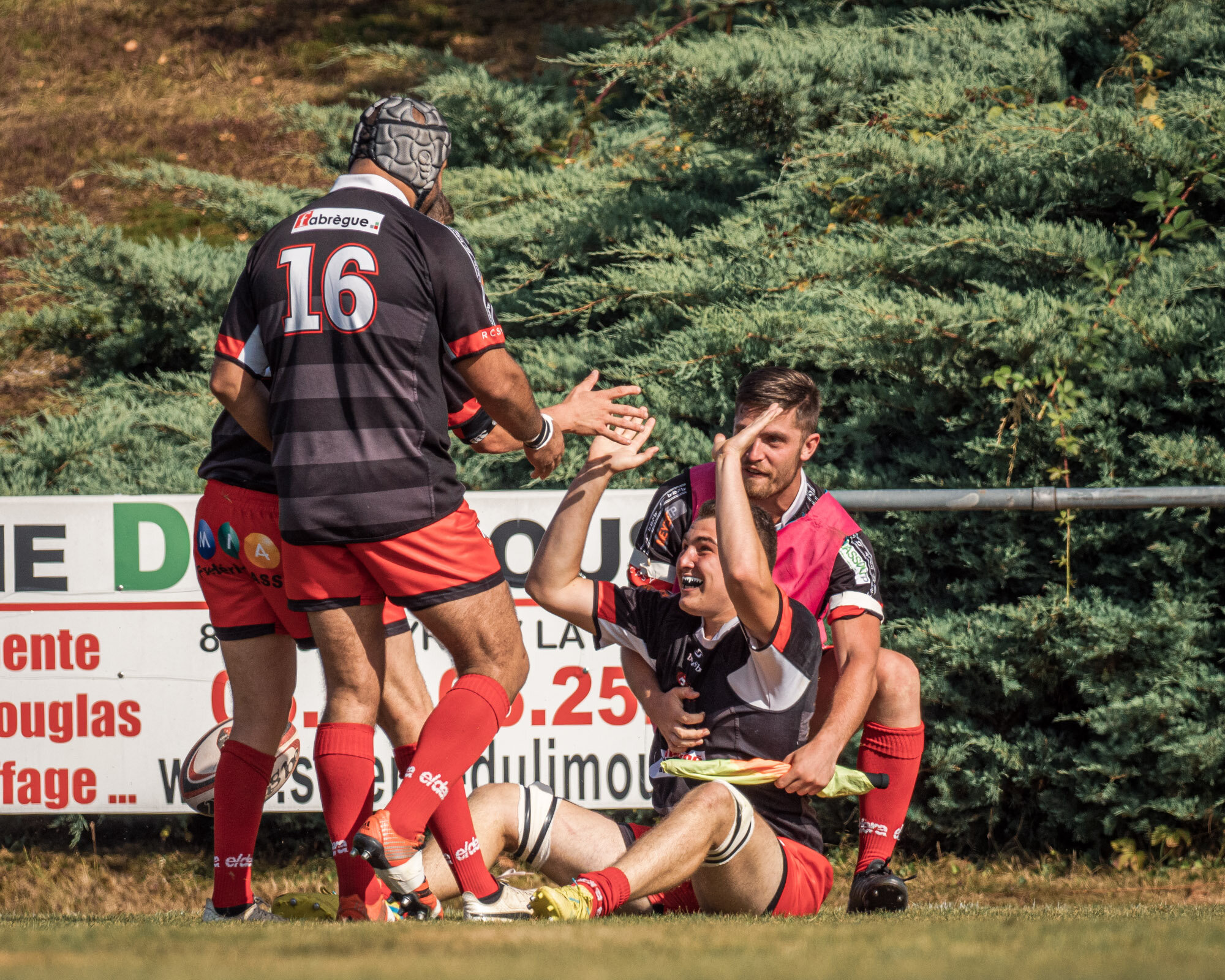 Second try for St Yrieix - a run down the left