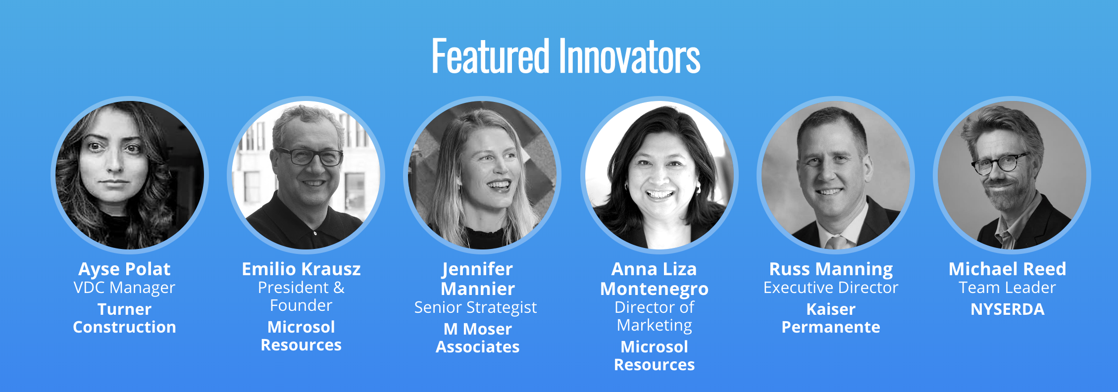 featured speakers for tech+ AEC conference