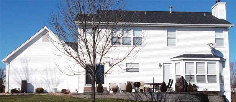 Before  - Siding Repalcement - St. Charles, MO