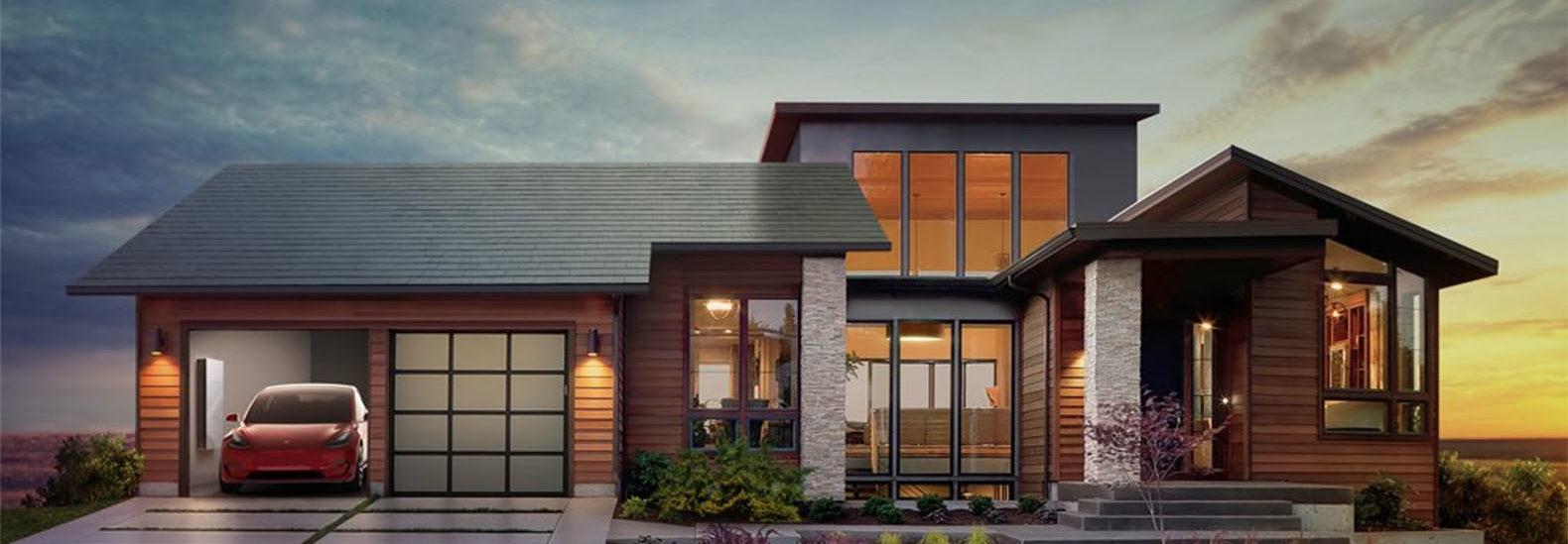 Tesla's new solar roof