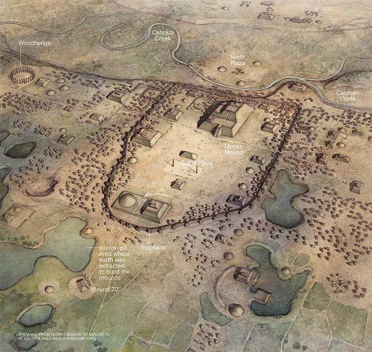 PIRÁMIDES EN EL NORTE DEL ANÁHUAC<br>East St. Louis, IL solía ser una ciudad antigua con pirámides