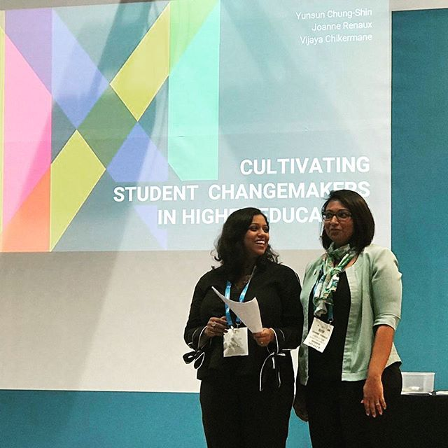 Sharing our experiences of cultivating changemakers at #gessdubai2019 - thankful for the amazing opportunity to present innoco's story and connect with some inspiring innovators in education!. . . . #socialinnovation #youth #creativeentrepreneur #studentinnovation #socialenterprise #education #community #homegrown
