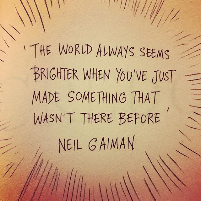 Innovate and make the world a little better and a little brighter . . . #socialinnovation #youth #entrepreneurship #engagement #inspiration #highereducation #neilgaiman #learning #socialchange