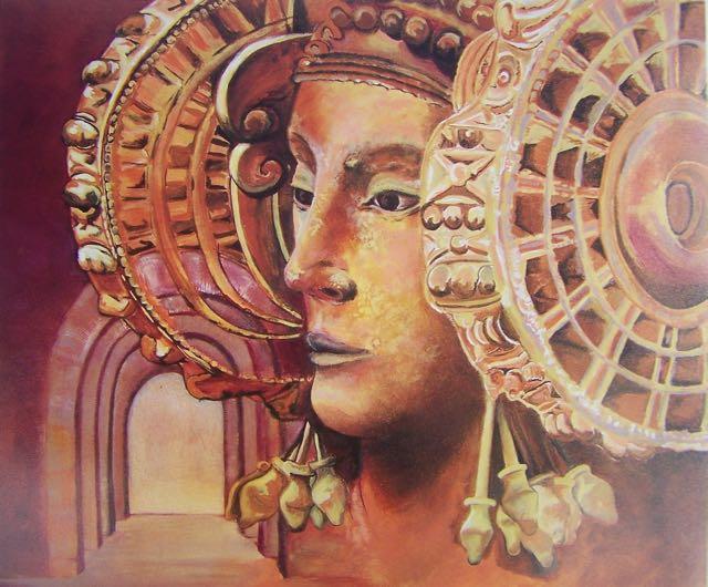 My missing painting of Dama de Elche