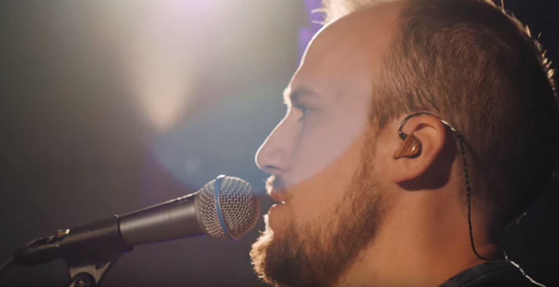 Jake Gosselin w In-ear monitors.JPG
