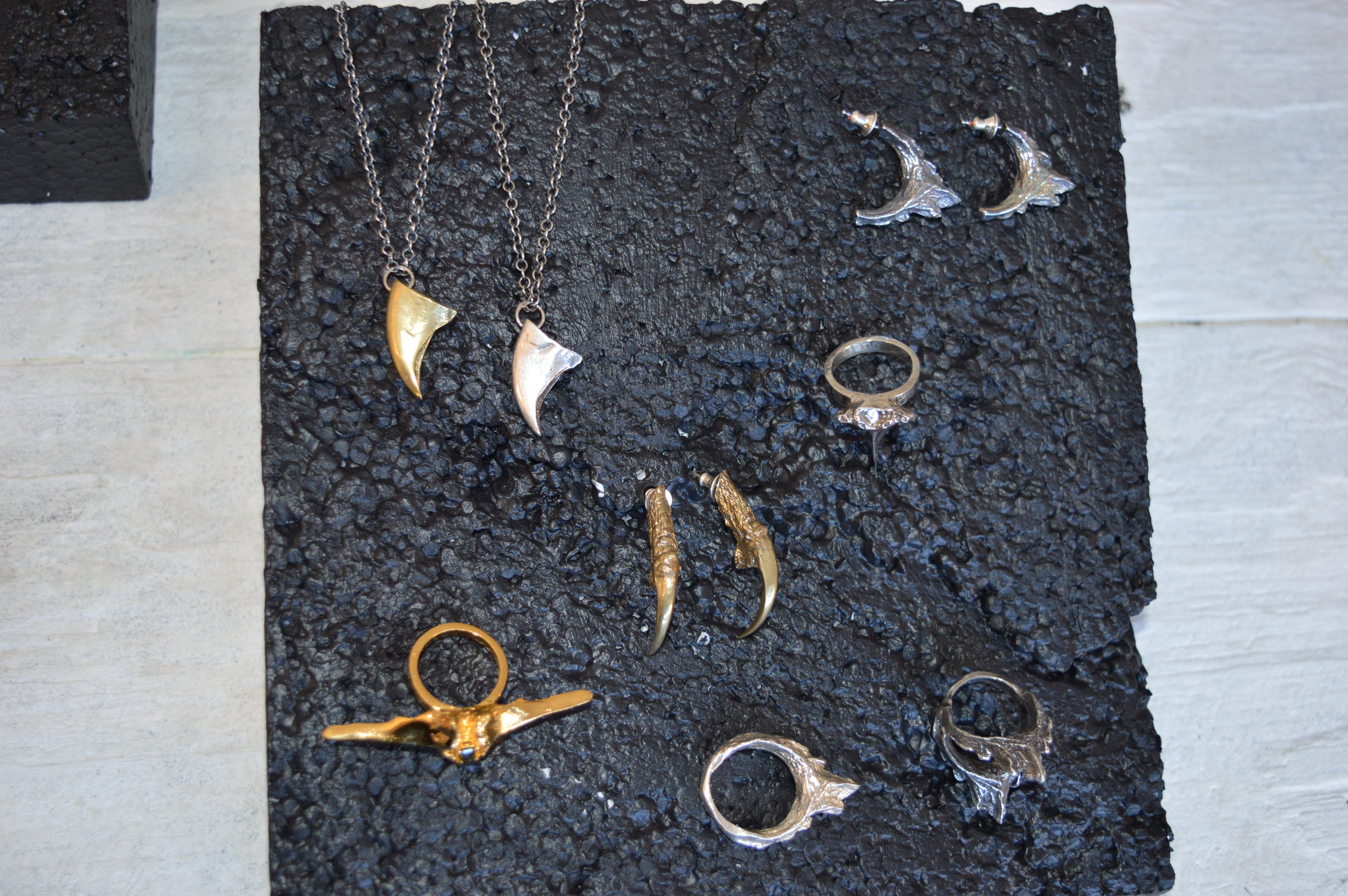 A selection of pieces I sent over for the event.