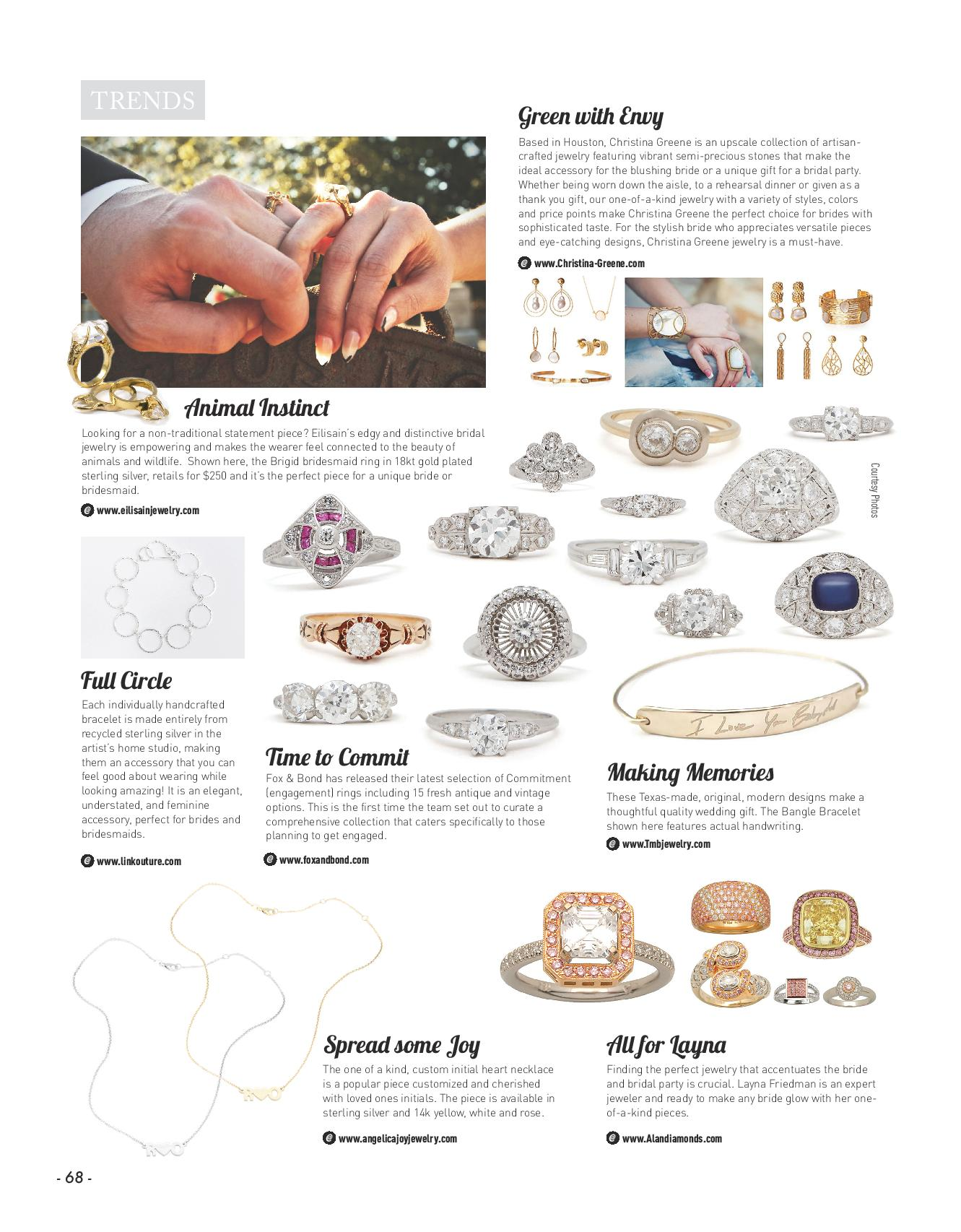 Texas Weddings Magazine - January 2017