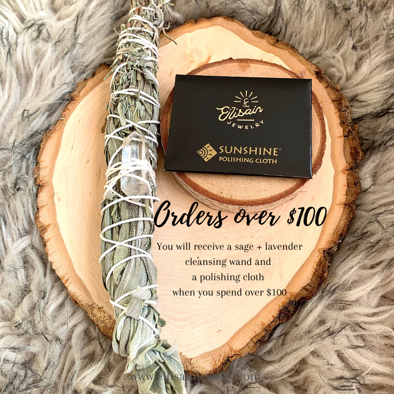 Sage and lavender bring a wonderful sense of calm to your life. Why not pass it along? This is a $17 bonus gift!