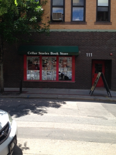 And around the corner is another bookstore! Heaven!