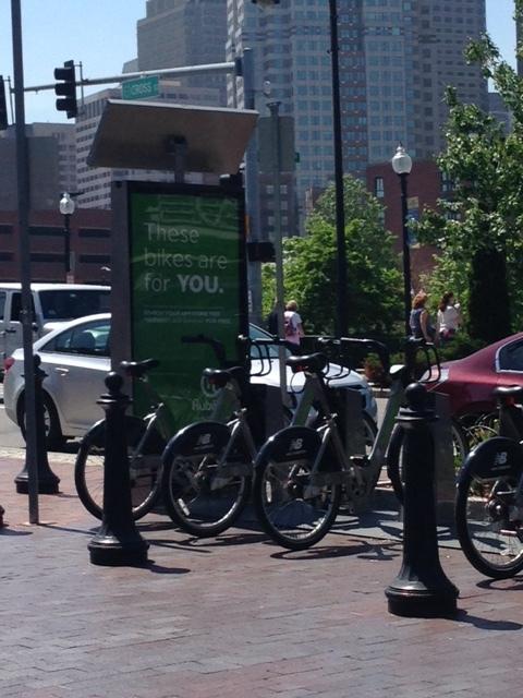 Bikes everywhere and bikes to share and rent too