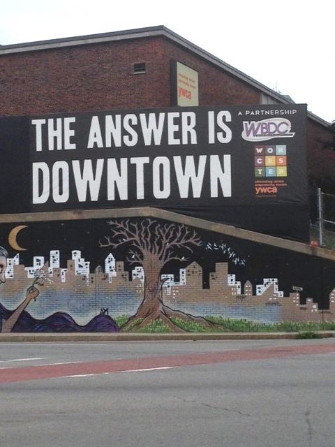 Aahh, but WBDC, here is the thing: If the answer is downtown, what really, truly is the question!!?