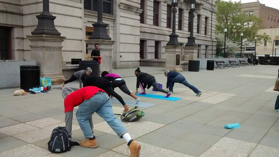 Starting off with Yoga at the Common