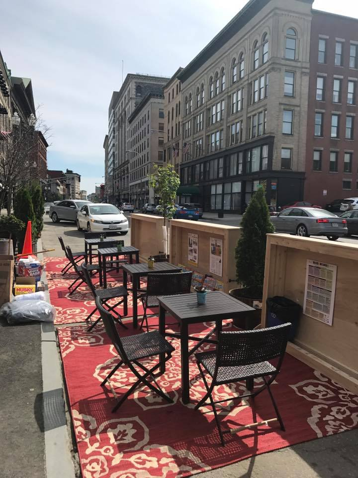 Parklet is Ready and Waiting for a Party!