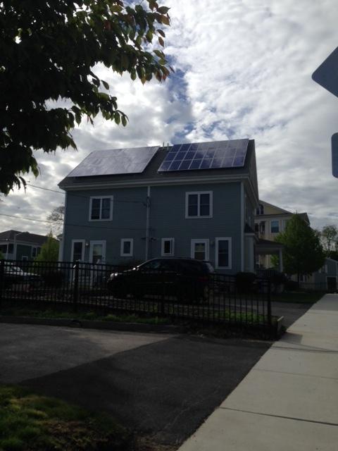 Solar Panels on a CDC Built Property