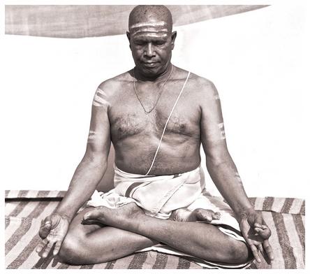 Pattabhi Jois founder of Ashtanga Yoga in Mysore India