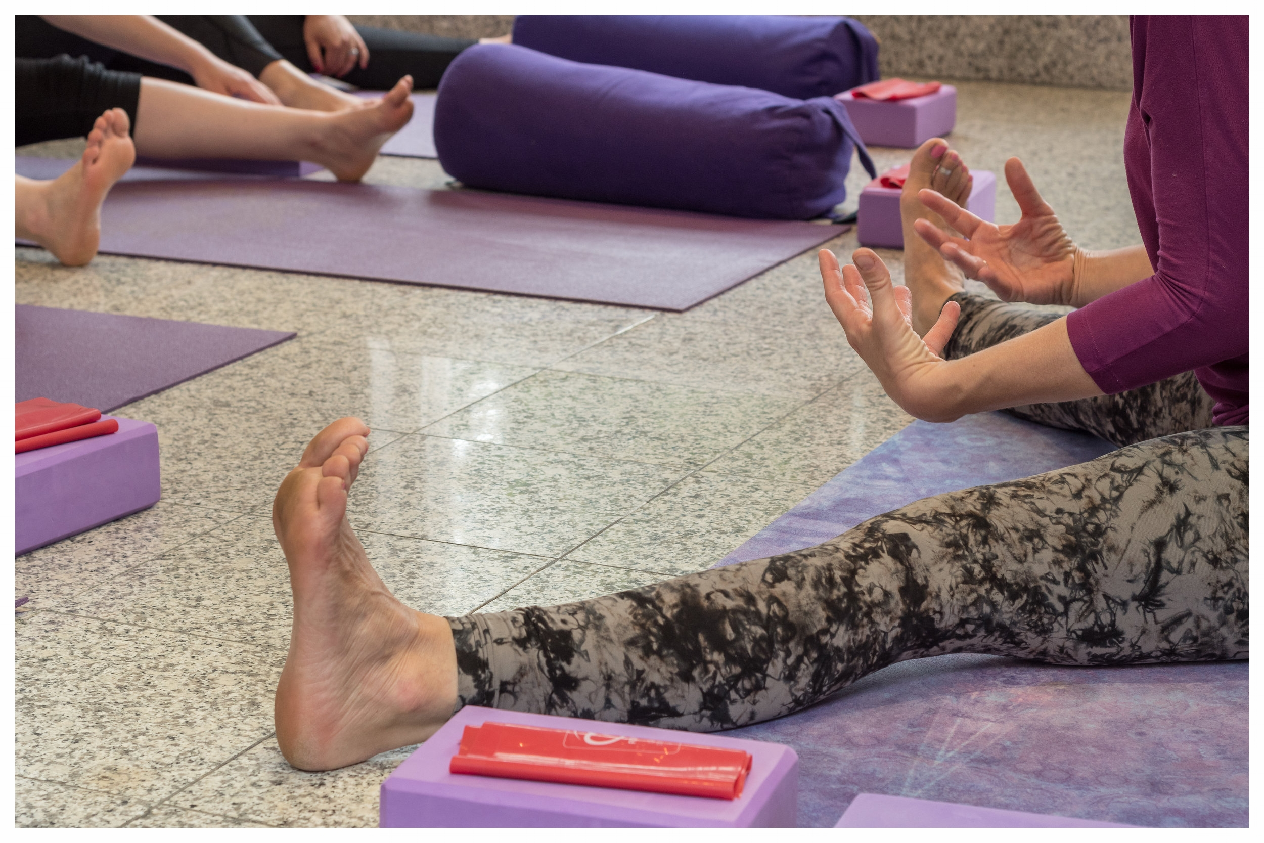 Beginners yoga Central Guildford
