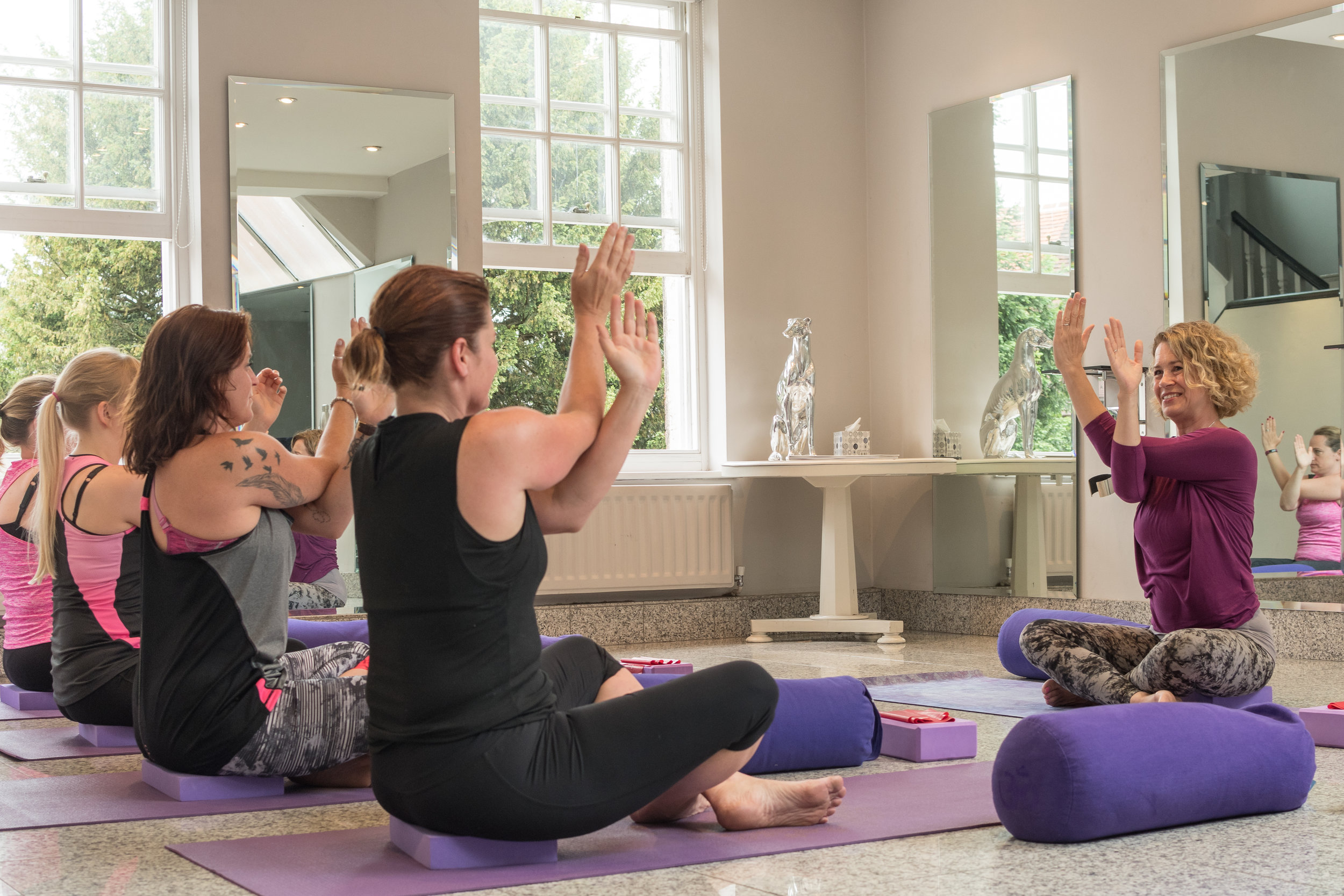 Friday beginners yoga farnham
