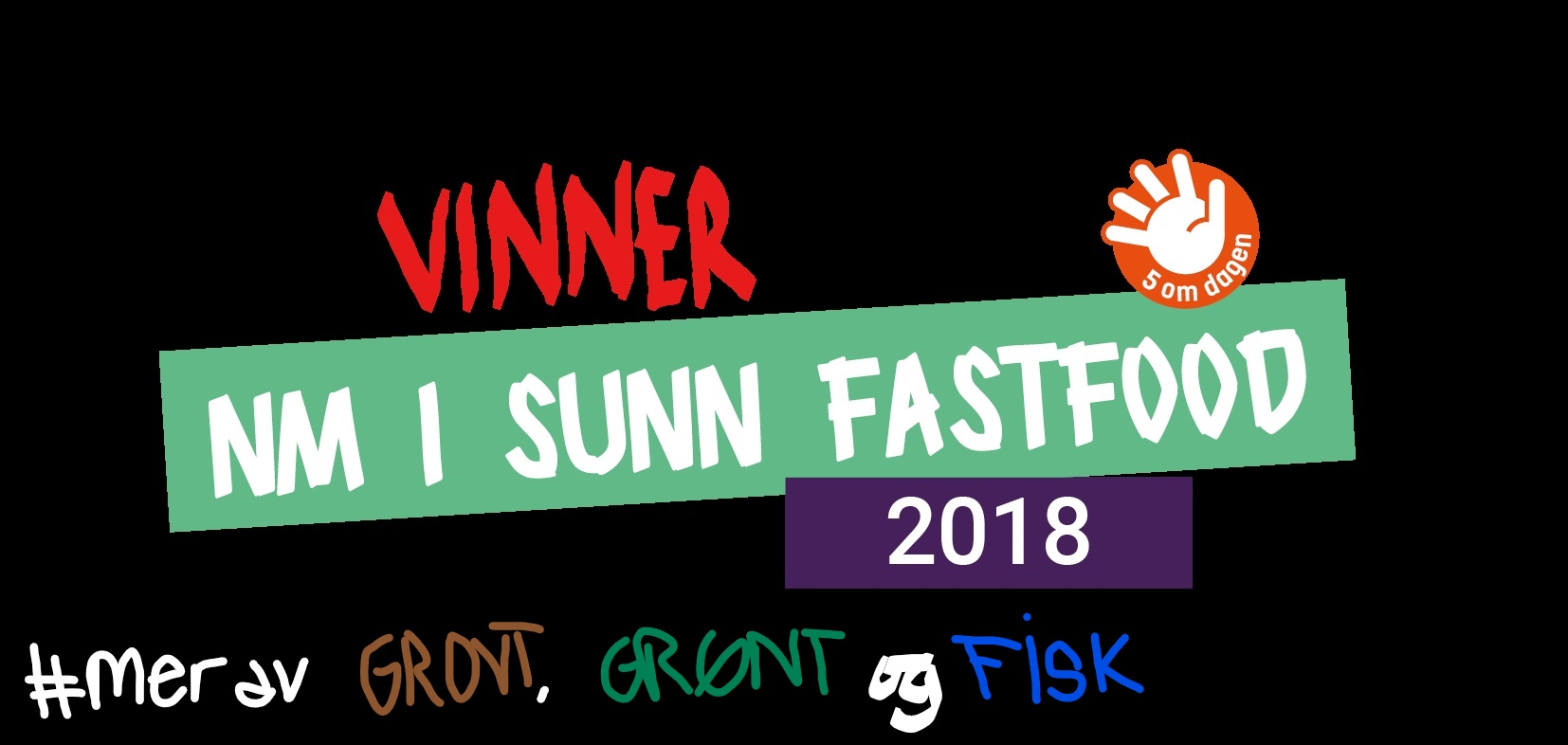 Vi vant NM i Sunn fastfood 2018 med den innovative FISKEBURGER MED TARE; som både er sunn, miljøvennlig og bærekraftig