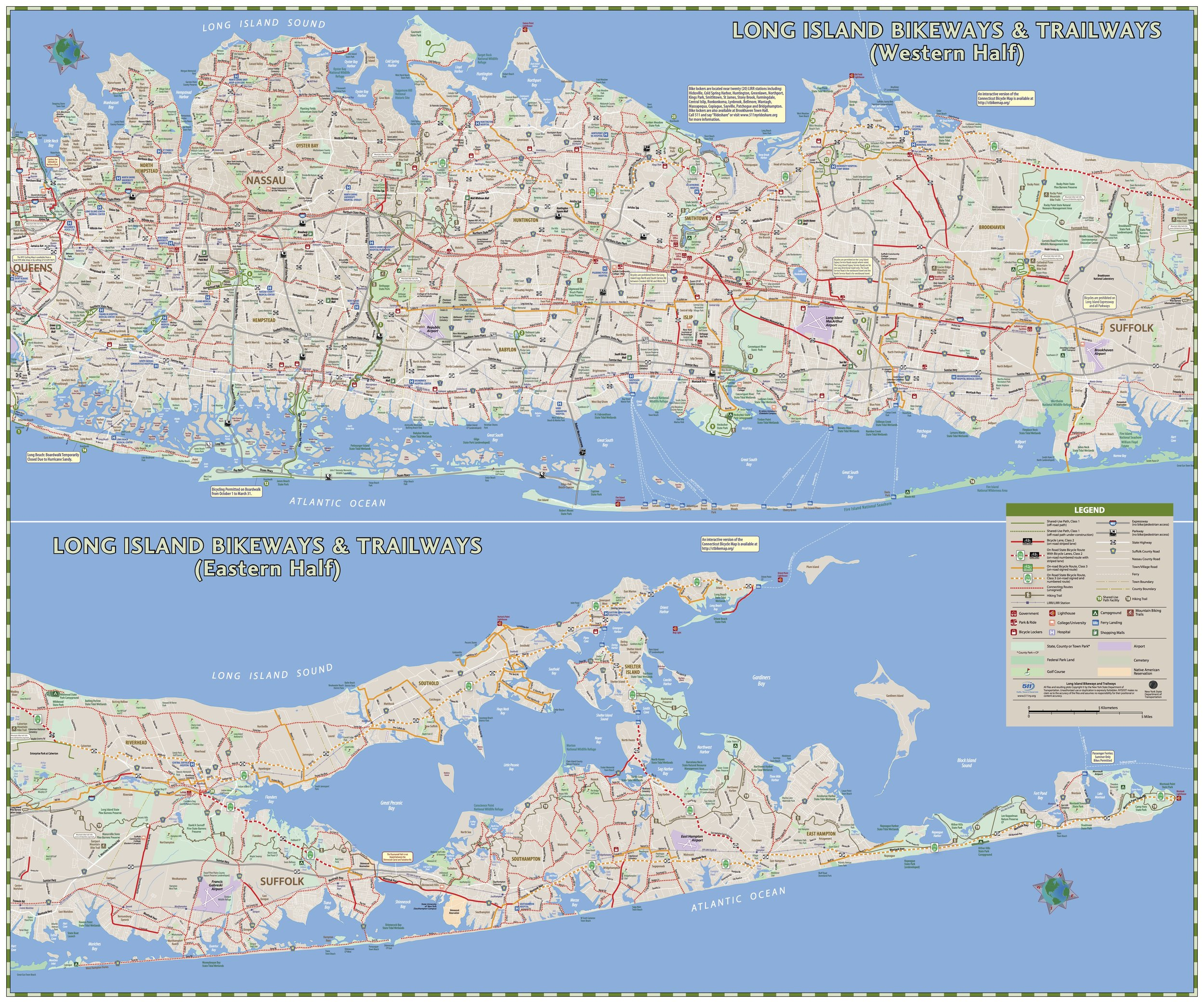 Map Of New York And Long Island.Maps Routes Long Island Streets