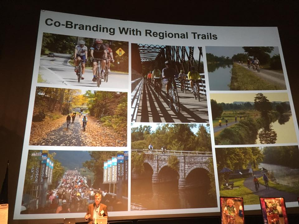 Branding and marketing efforts associated with the Empire State Trail