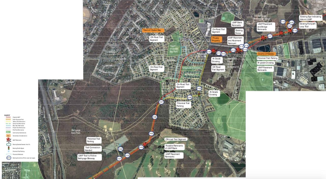 Motor Parkway Trail- segment H