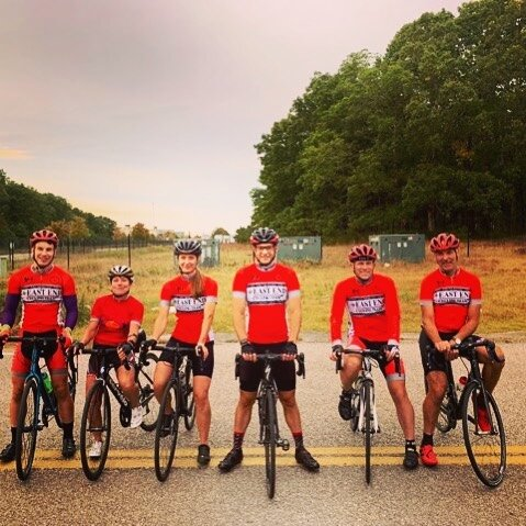 Last East End Cycling Team sprint practice of the year