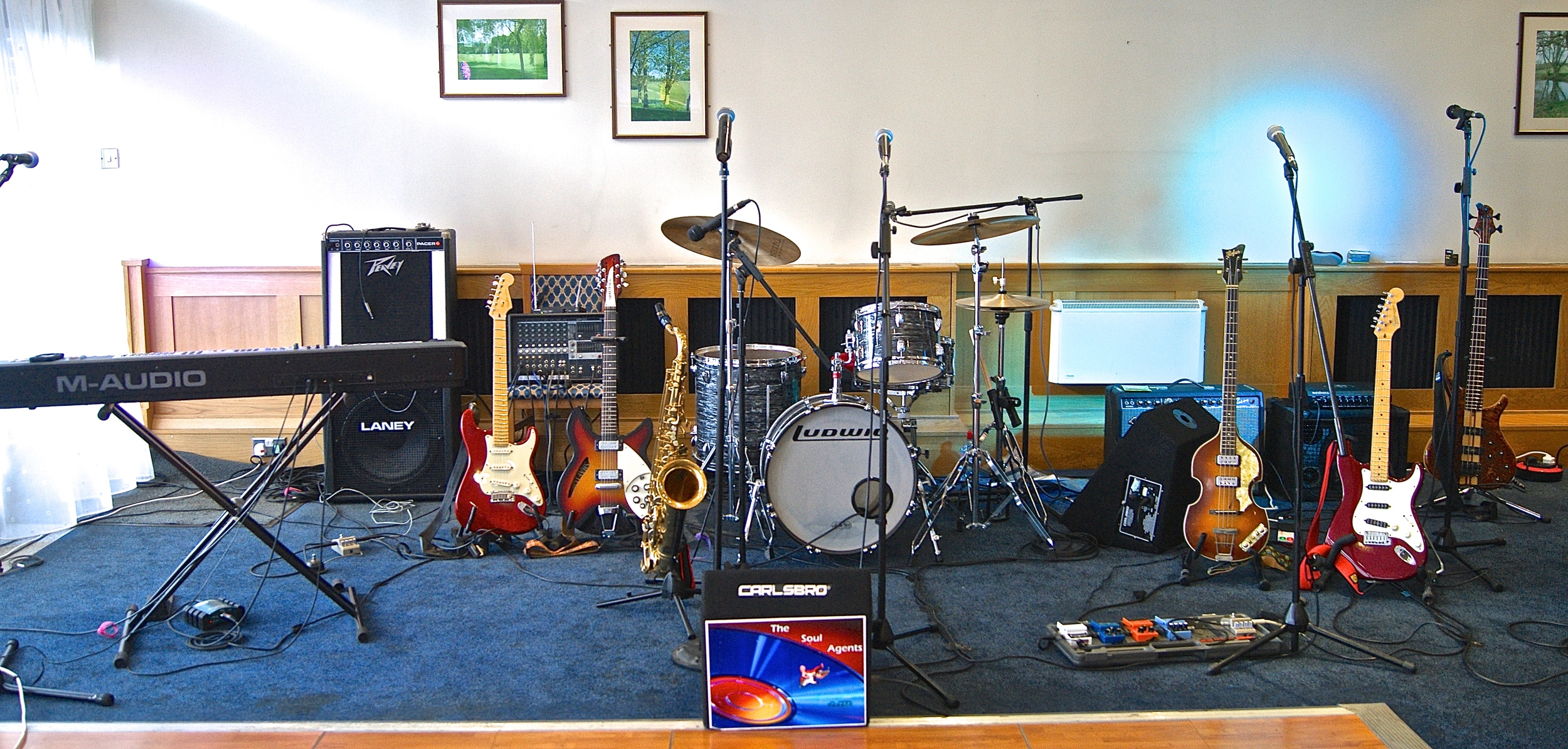 Our typical stage rig