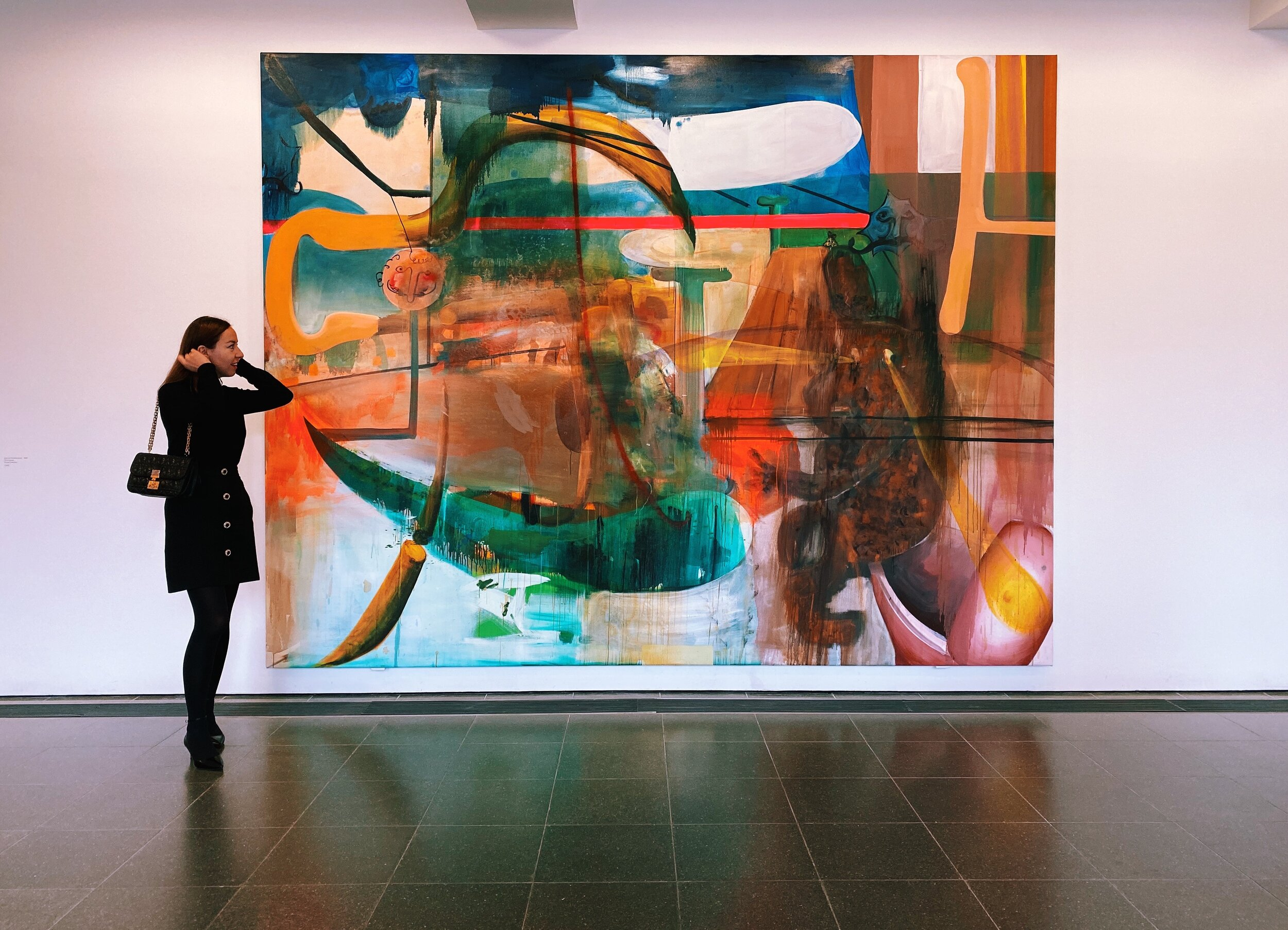 Albert Oehlen at Serpentine Gallery.