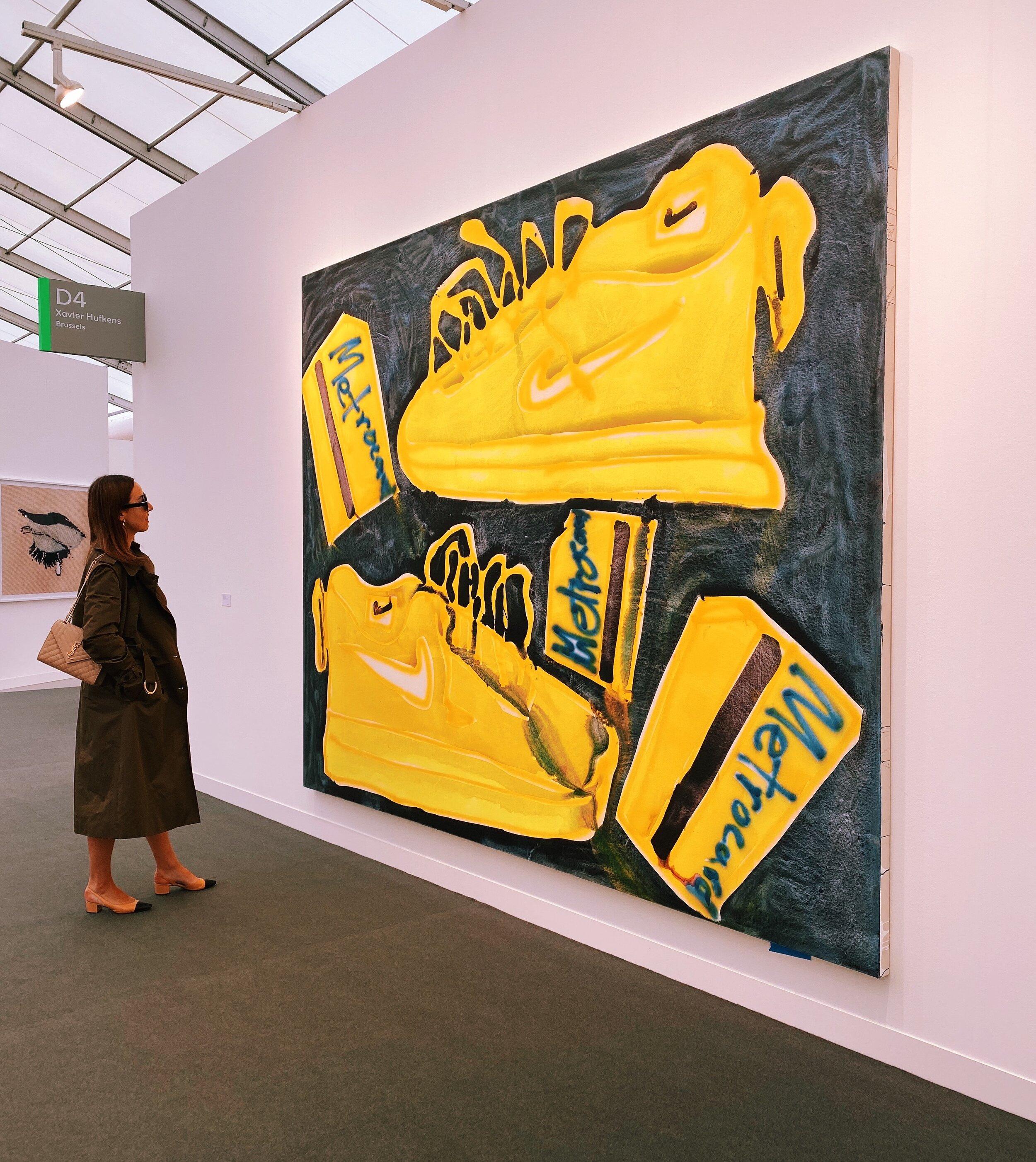 Katherine Bernhardt at Xavier Hufkens / Frieze Art Fair /.