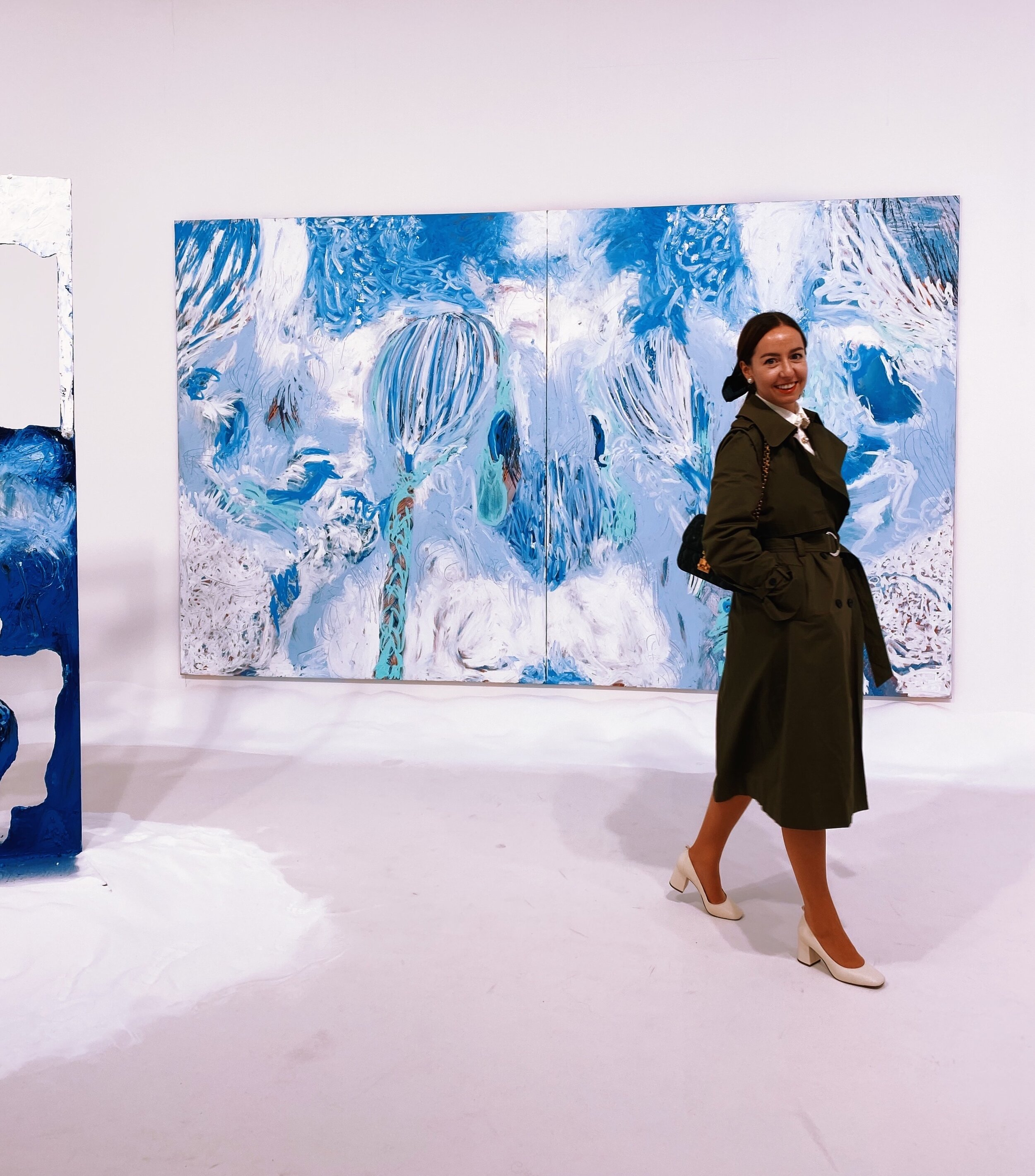 Donna Huanca at Simon Lee Gallery / Frieze Art Fair /.