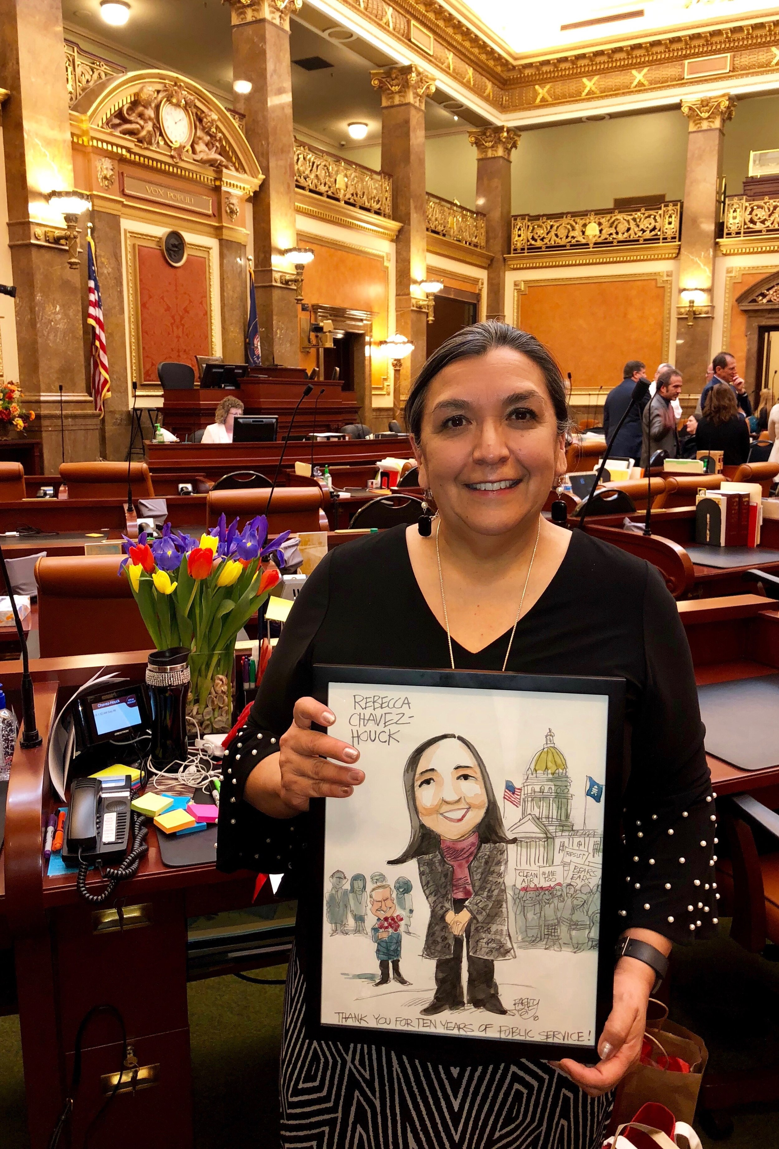 Legislator.Non-Profit Executive. Community Advocate.Journalist - In a life journey that began on a produce farm in the outskirts of Salt Lake County, Rebecca doesn't forget her roots, nor the opportunities that set her on her path to public service.
