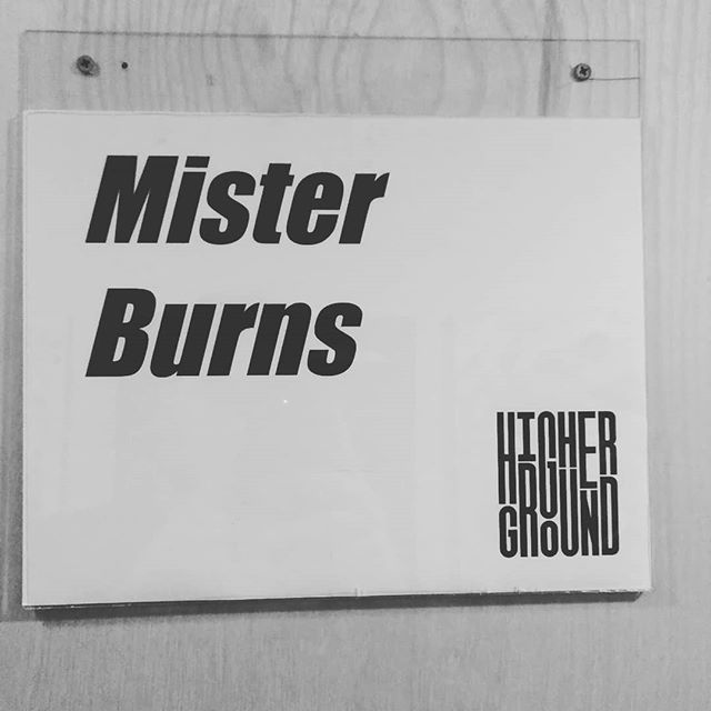 Gonna be a fun night at @highergroundmusic got the band rocking with me too! Come get down. - #vthiphop #misterburnsvt #itsallfunandgames #itsallfunandgamestour #greenroom #sign #higherground