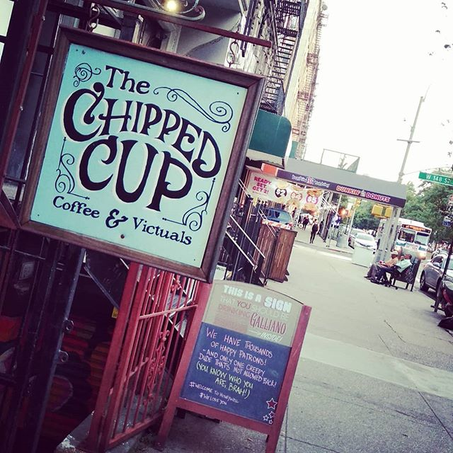 @chippedcupny in Harlem is the place for night 5 of the All Fun And Games Tour. Gonna be a great night of Hip Hop. Big up @premrock for putting it together. - #itsallfunandgames #itsallfunandgamestour #newyorkcity