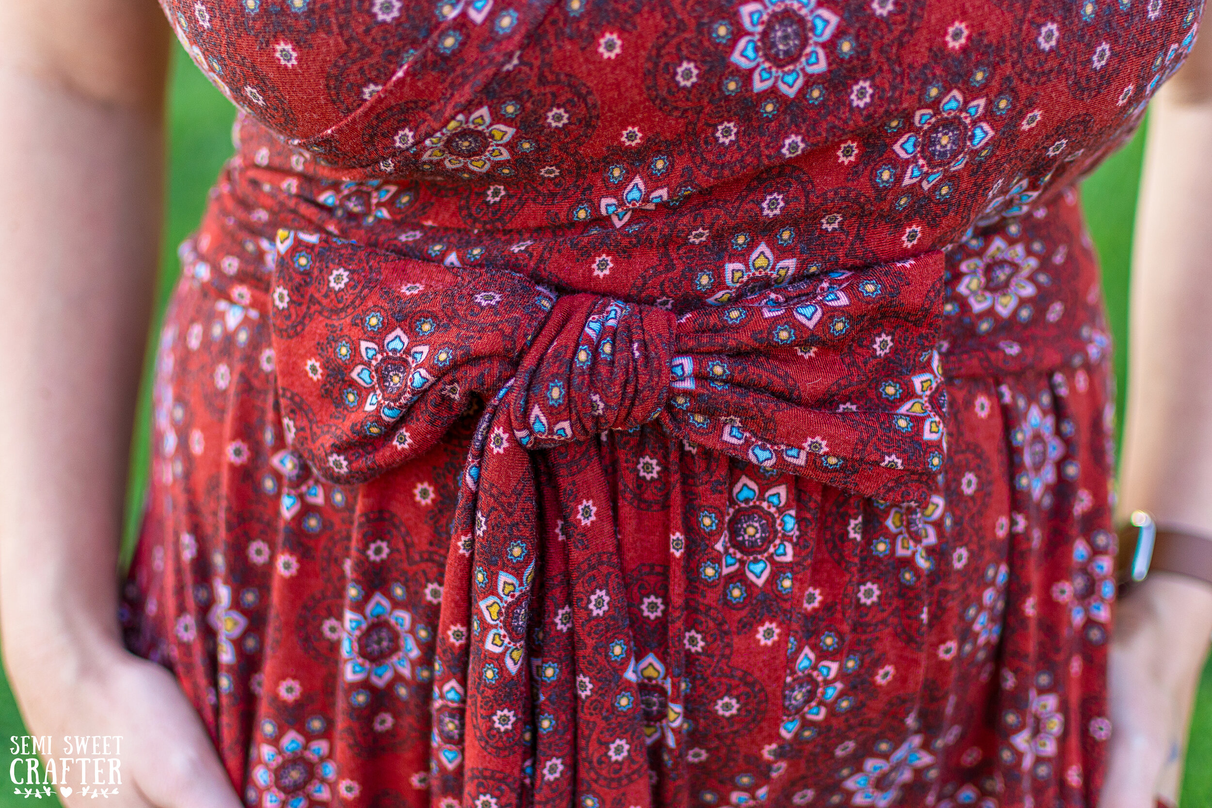 South Shore Romper: Sewing Project by Semi Sweet Crafter