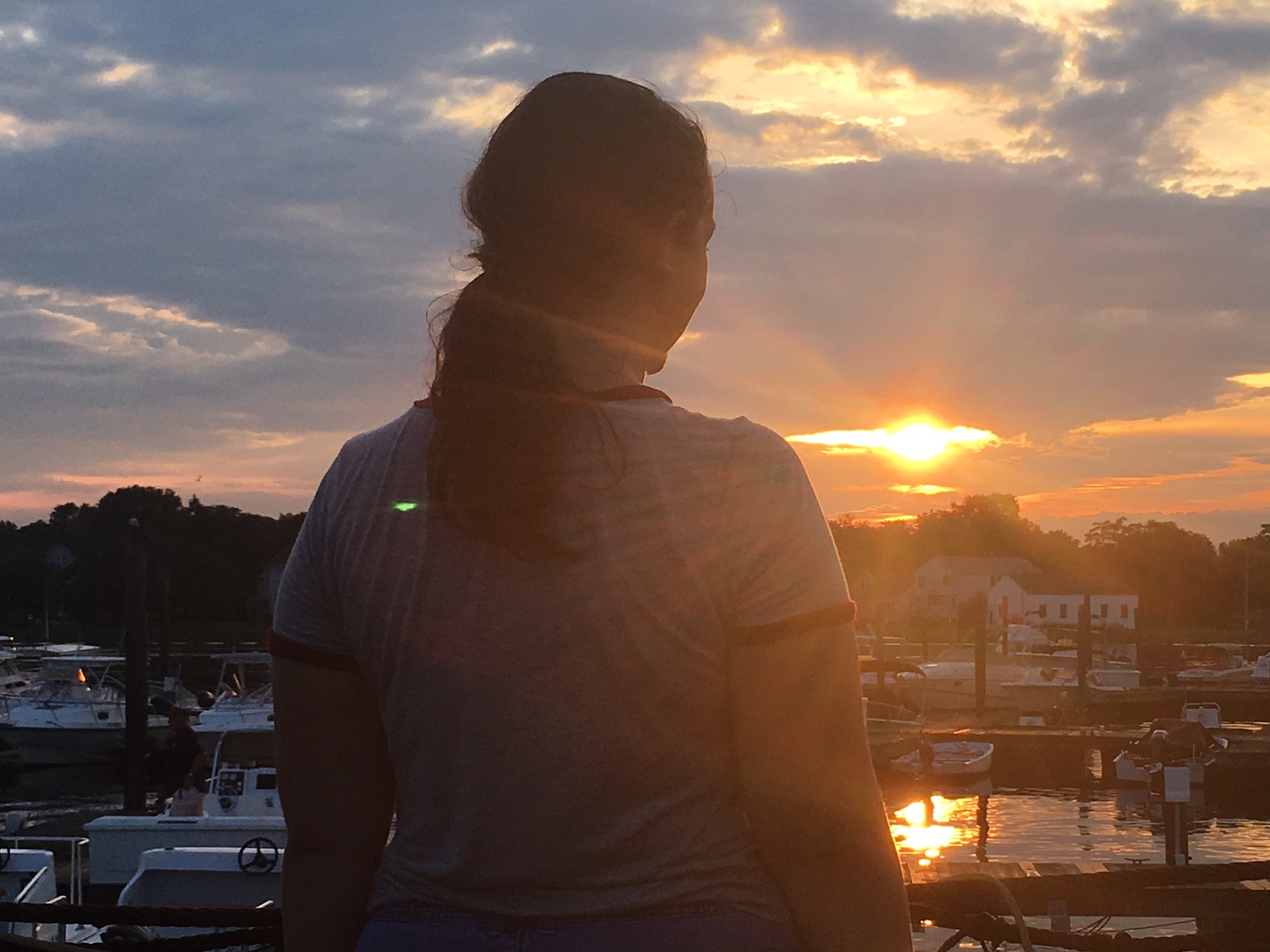 Kendra at Captain's Cove marina, Bridgeport