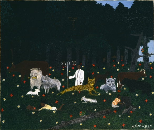 HOLY MOUNTAIN III   BY HORACE PIPPIN (  SOURCE  )