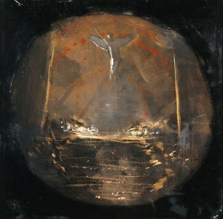 Behold the Celestial Bridegroom Cometh  by Niklaos Gyzis