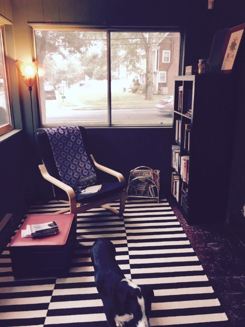 one of my favorite reading nooks in our new place