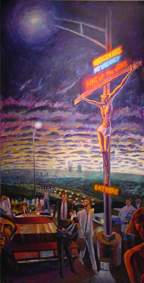 Crucifixion at Barton Creek Mall  by James B. Janknegt ( source )