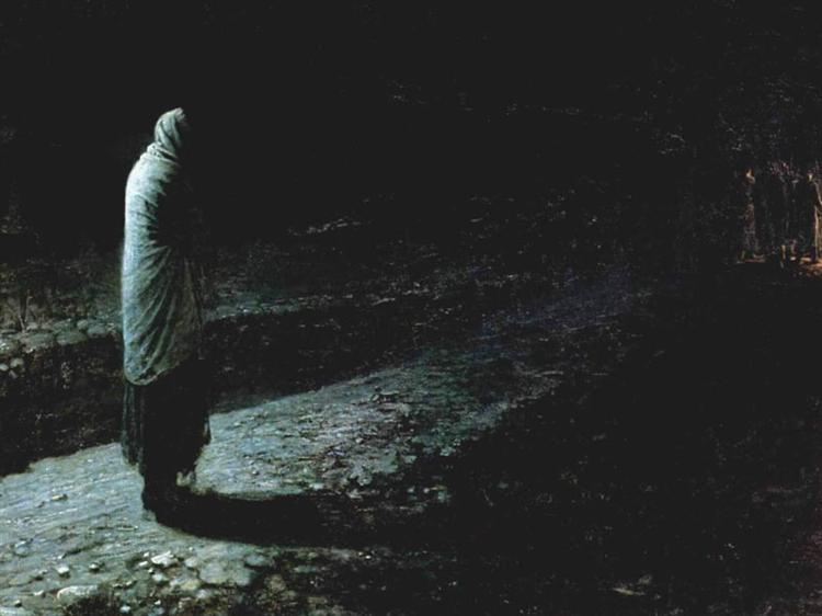 Conscience, Judas  by Nikolai Ge ( source )
